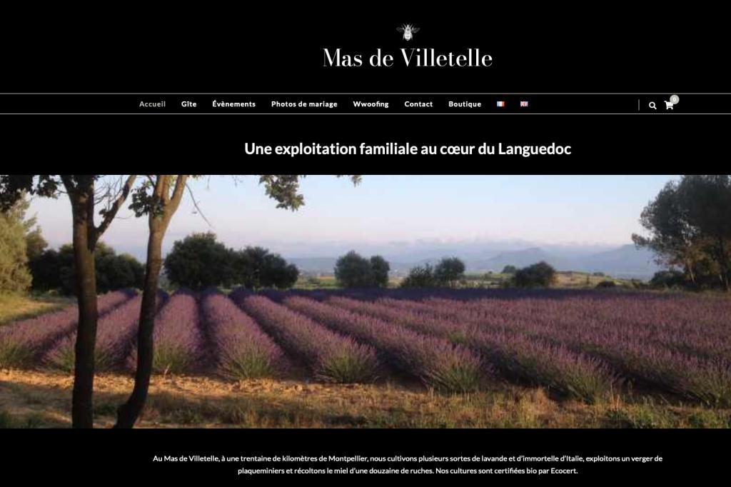 site multilingue mas villetelle